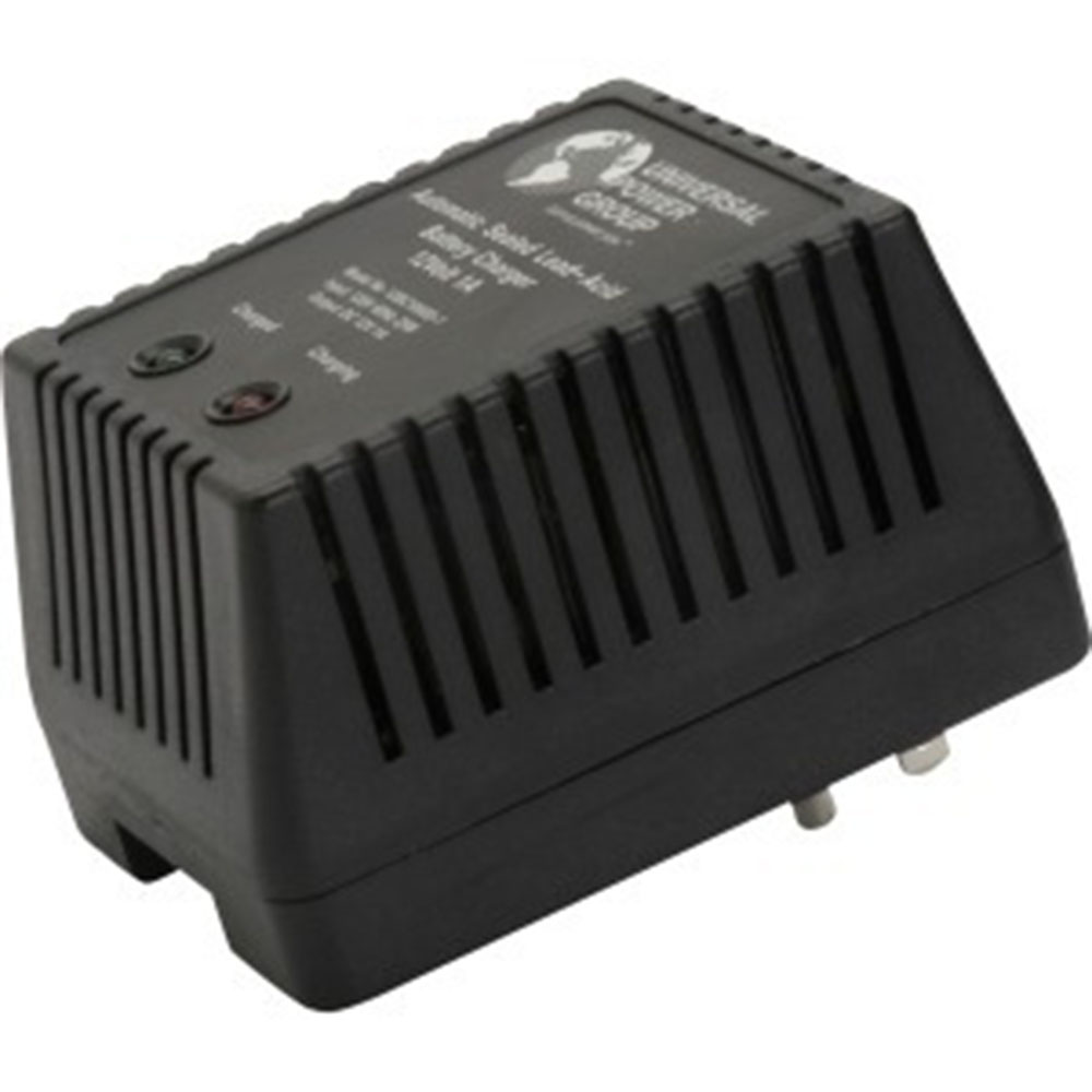 UPG 12V 1A Dual Stage Charger w/o Clips 12BC1000D-1