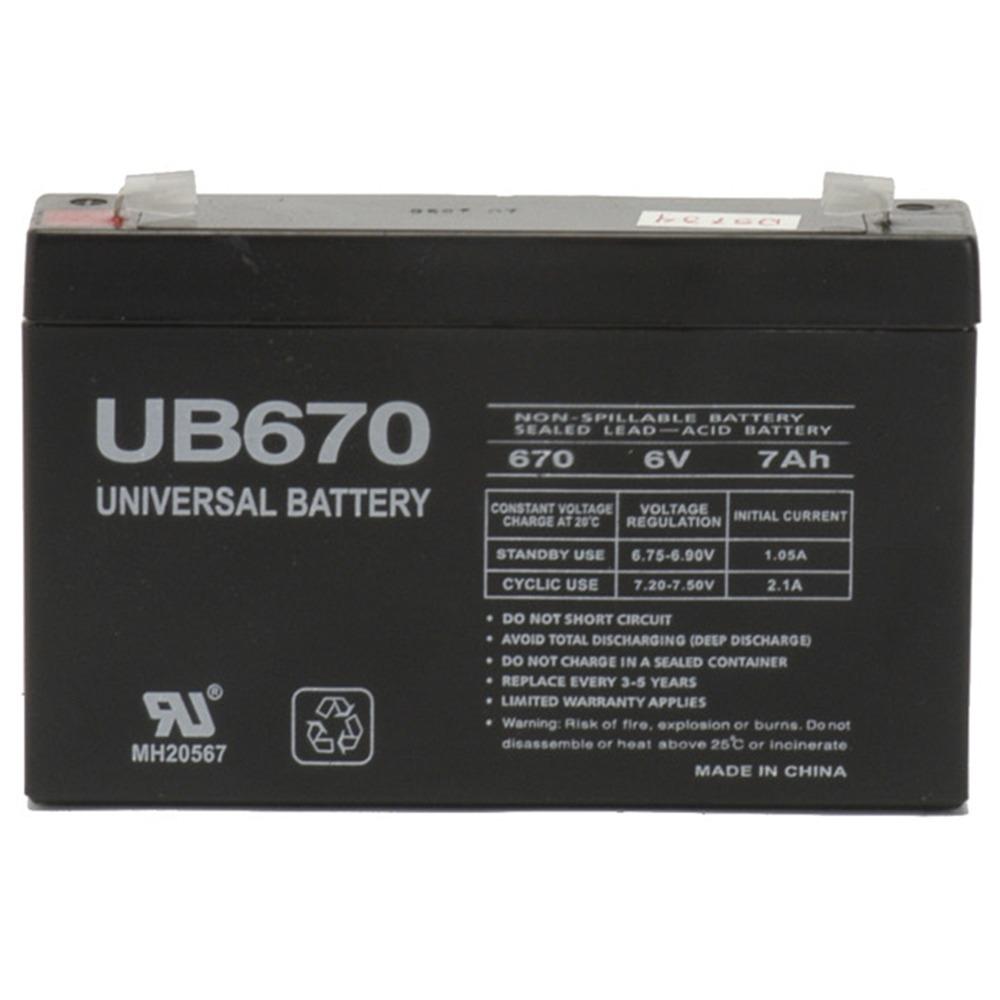 Universal Battery UB670 UPS Battery