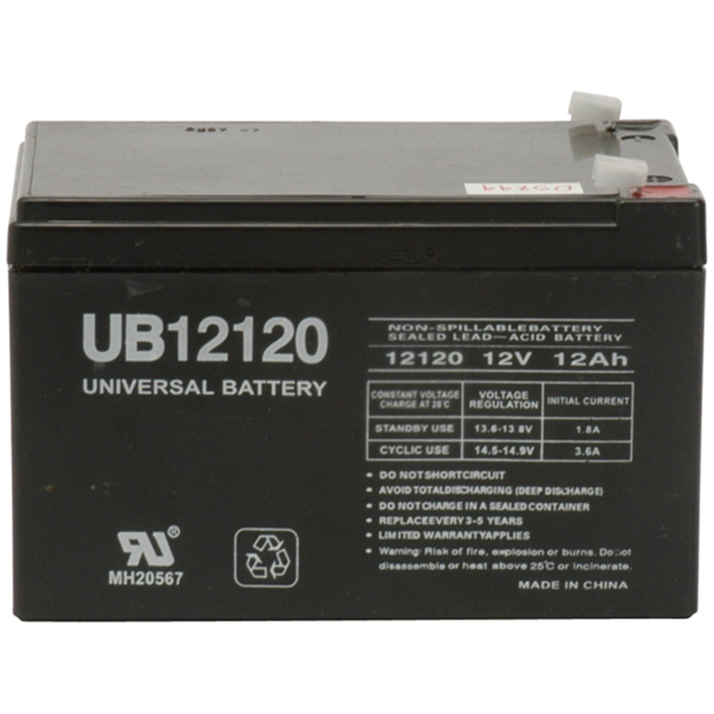 UB12120 12V 12AH SLA REPLACEMENT BATTERY FOR APC UPS - RBC4 BATTERY