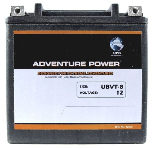 UBVT-8 Adventure Power Power Sport AGM Series Dry Charge AGM Battery