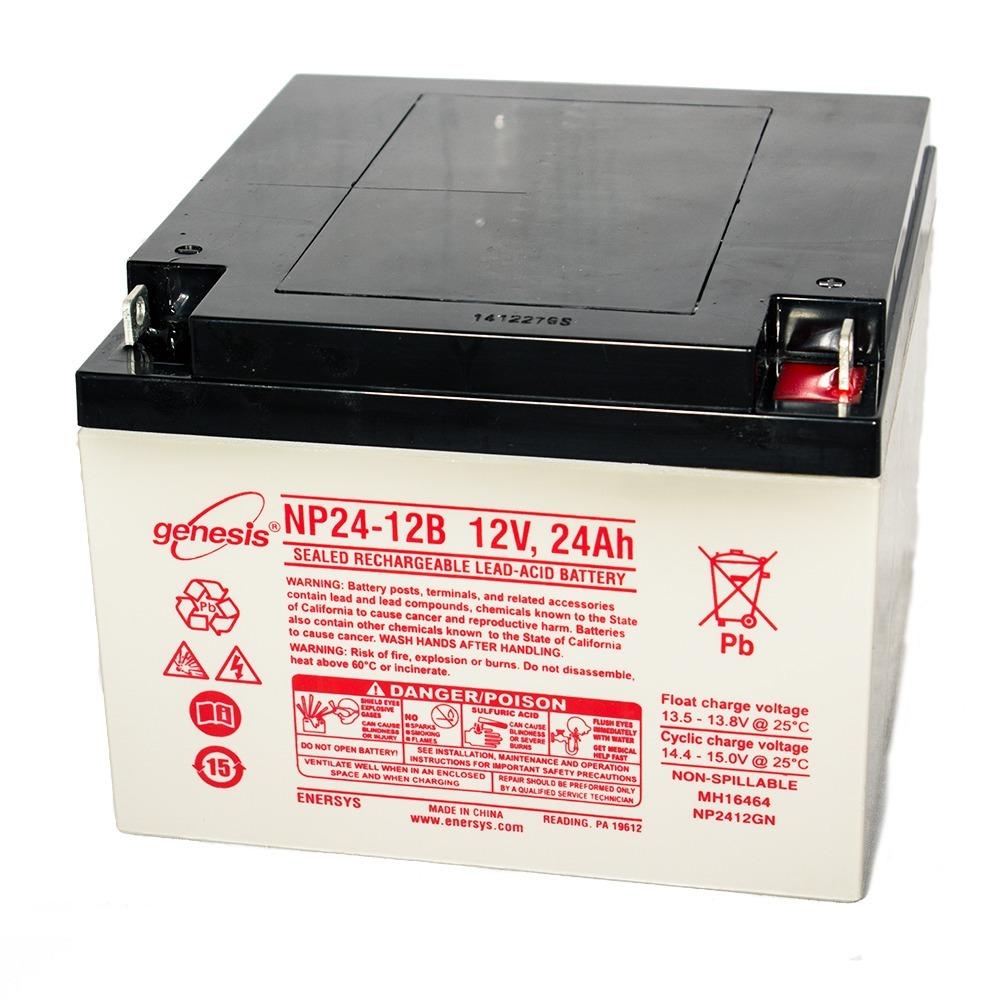 Genesis 12V 24Ah Replacement Battery for Douglas Guardian DBG1224
