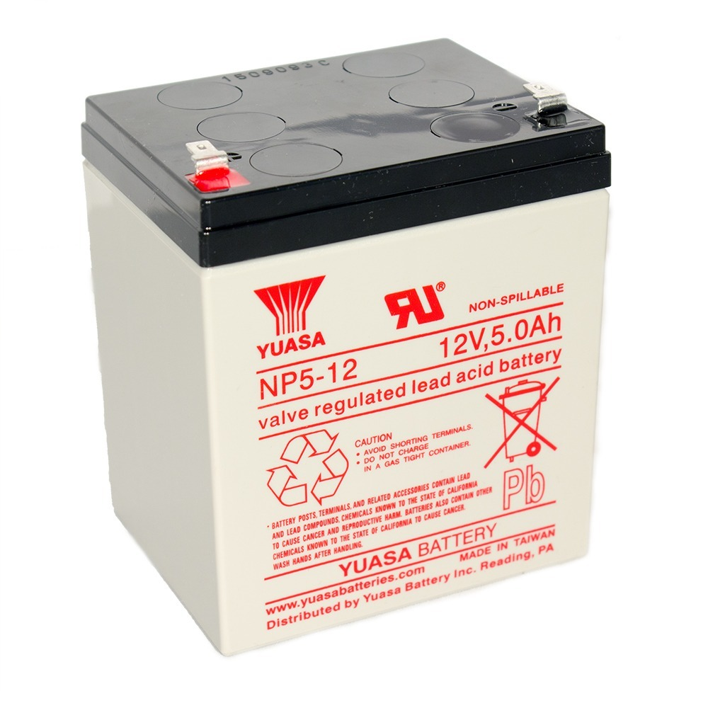 12V 5AH GE Security 60-681 Security Alarm Battery