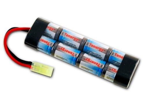 9.6V 1600mAh Flat Battery Pack