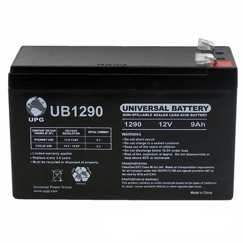 12V 9AH Replacement Battery for TRIPP LITE SMART1400 Battery