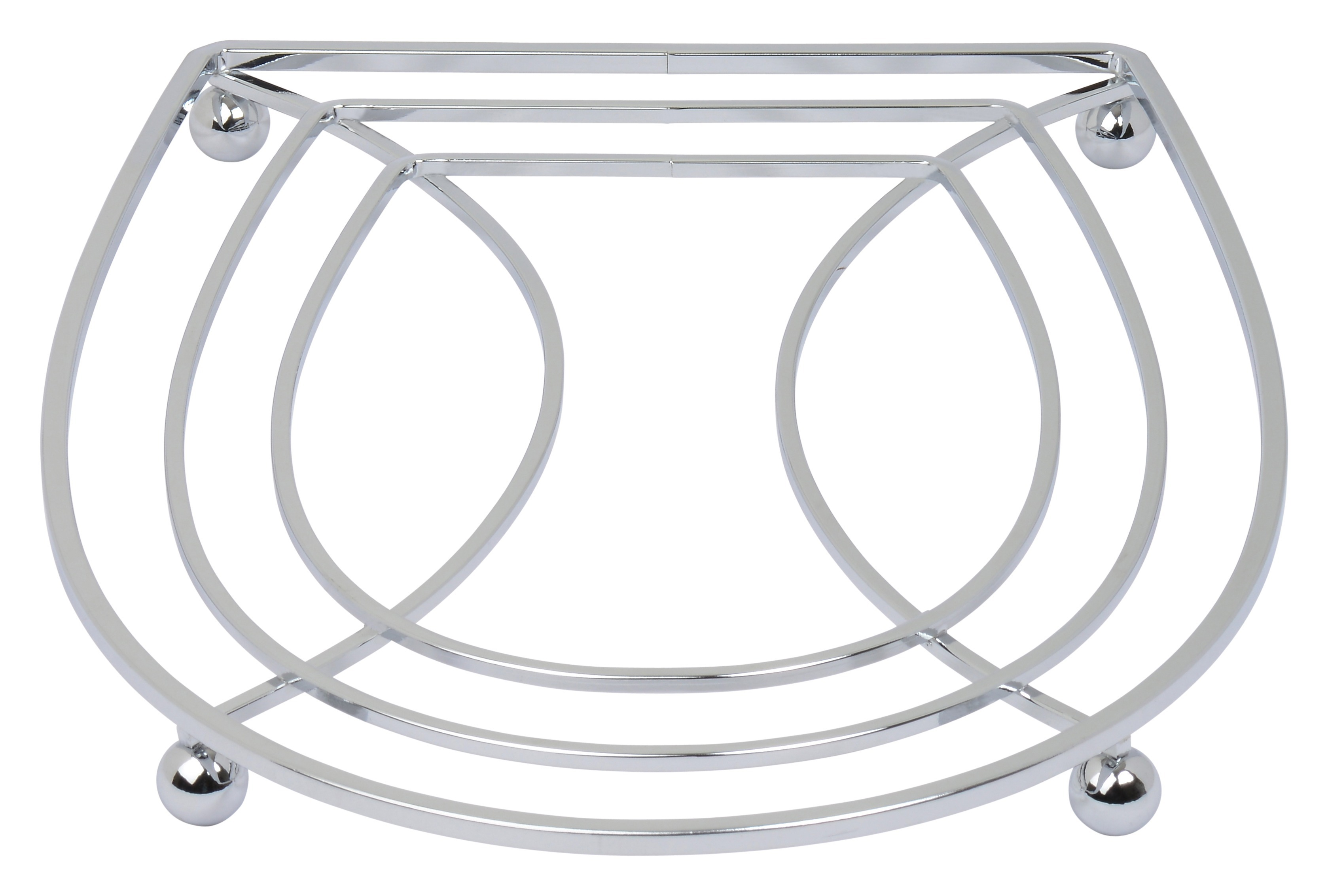Trivet - High Quality Stainless Steel with Shiny Chrome Polish