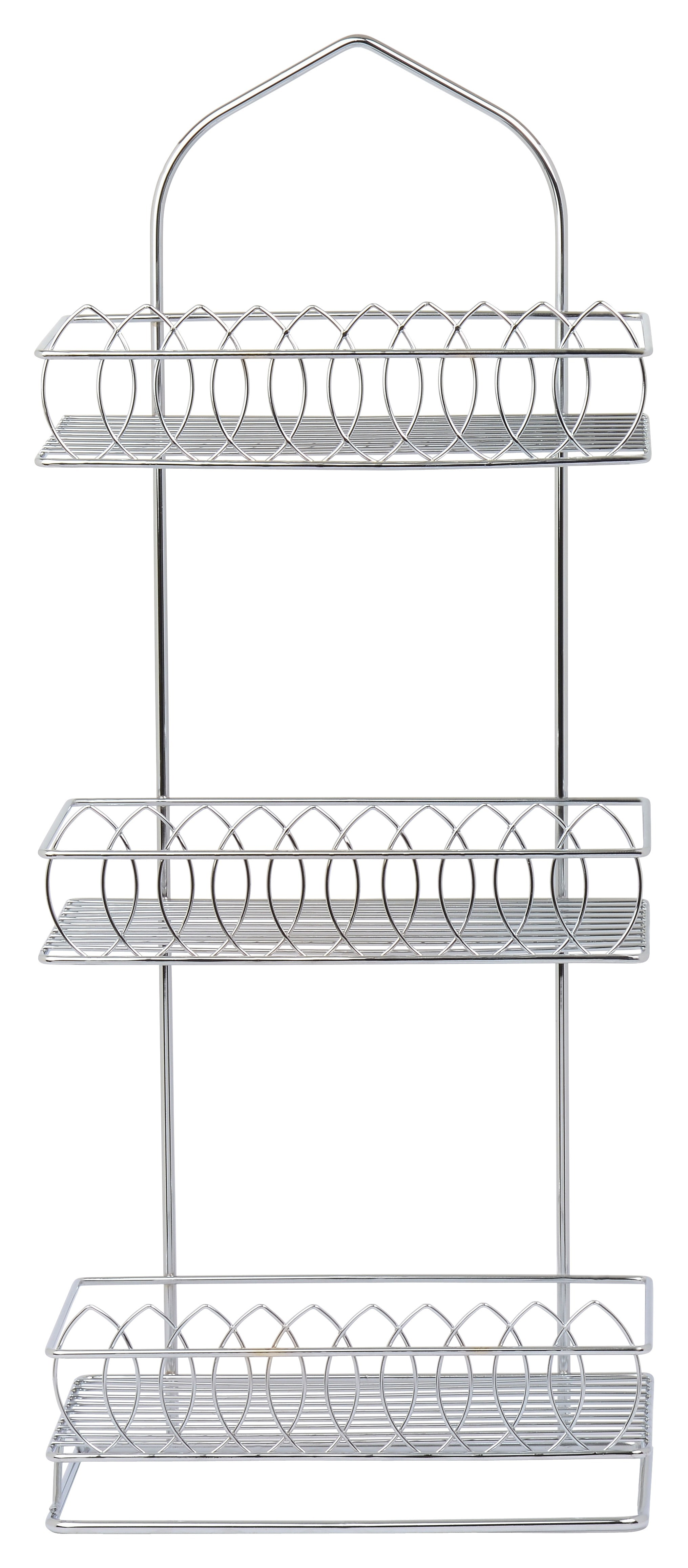 3 Tier Stand - High Quality Stainless Steel with Shiny Chrome Polish