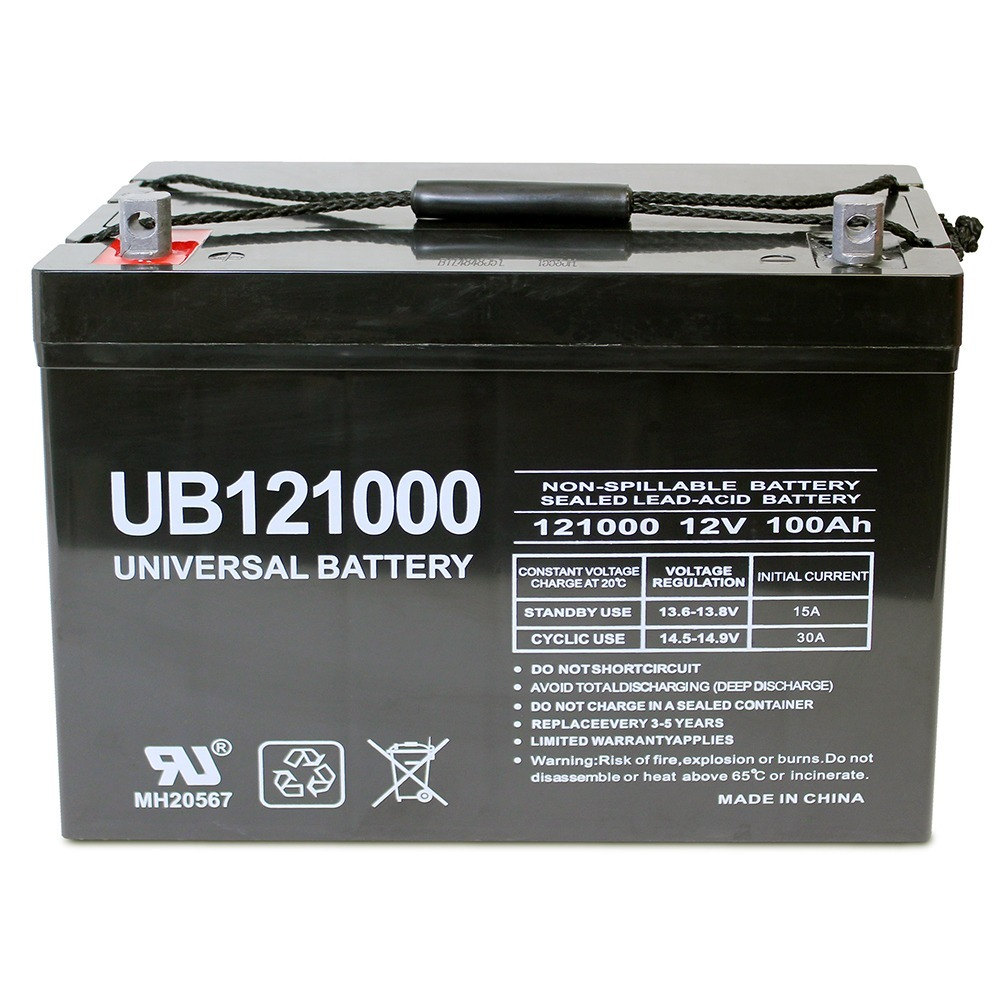12V 100Ah SLA AGM Battery for APC SILCON SL20KG