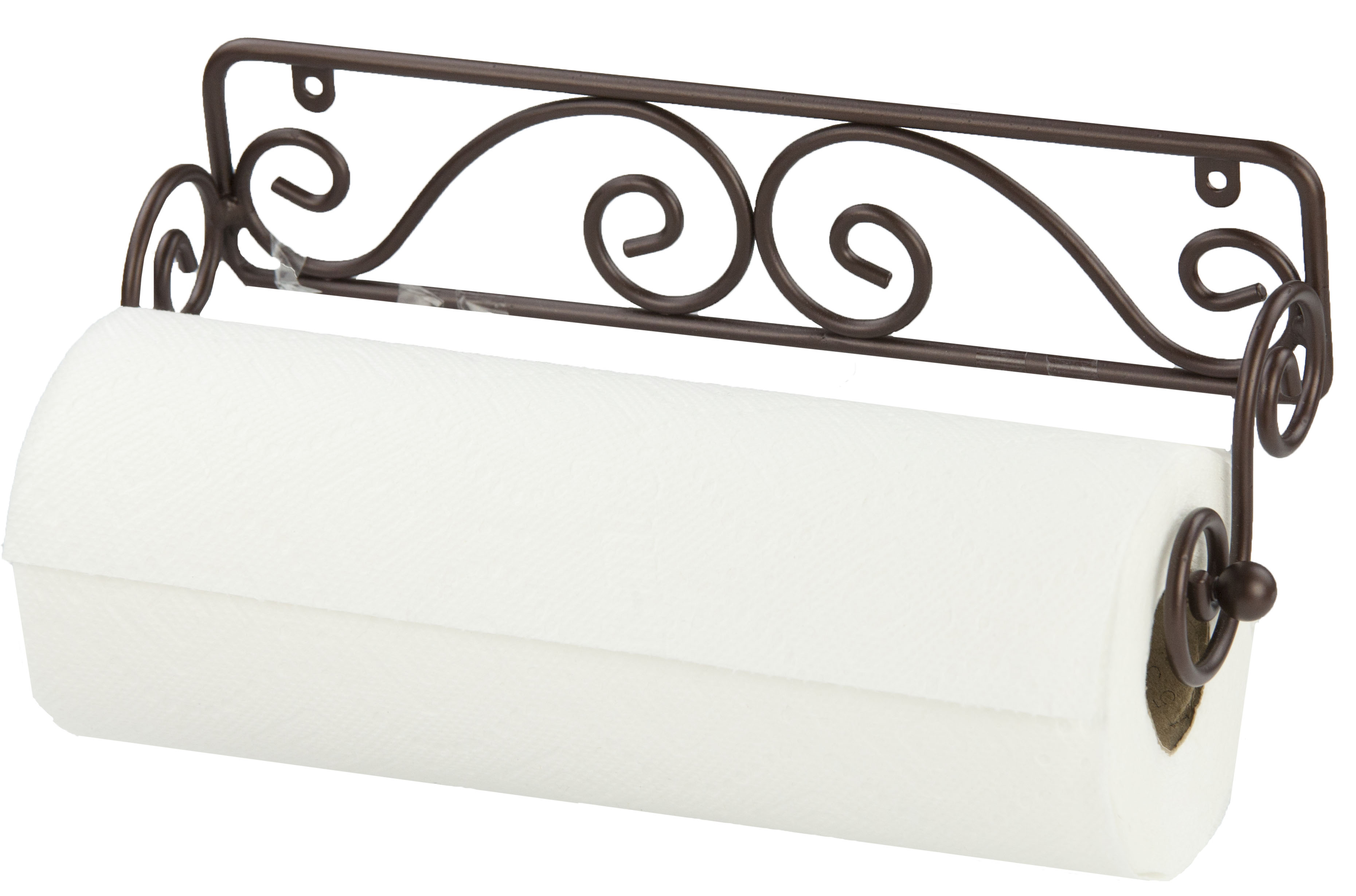 Wall Mounted Bronze Paper Towel Holder