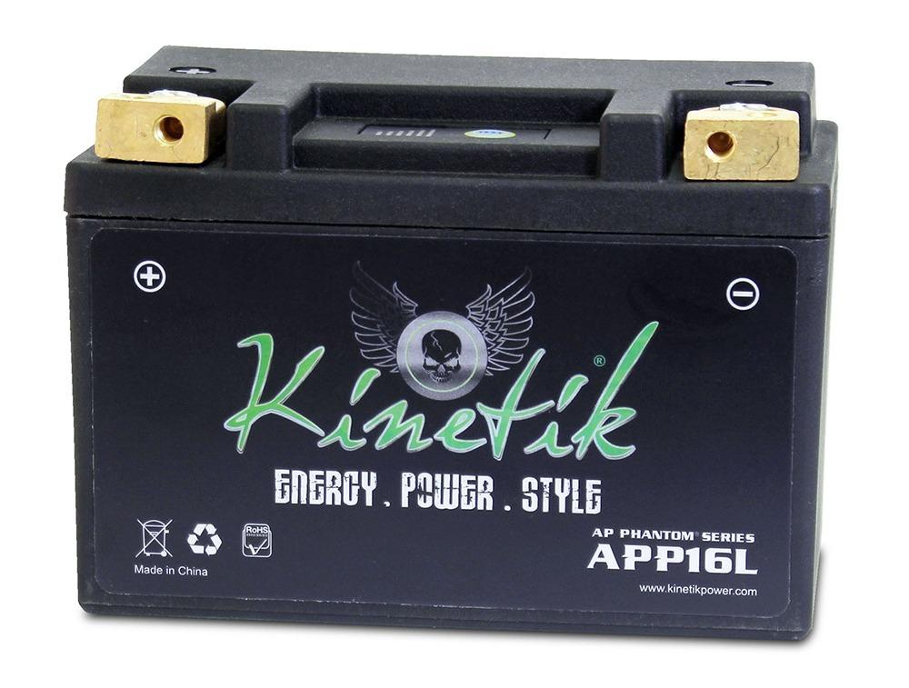 APP16L LiFePO4 12V 16-18ah 330 CCA PowerSport Battery