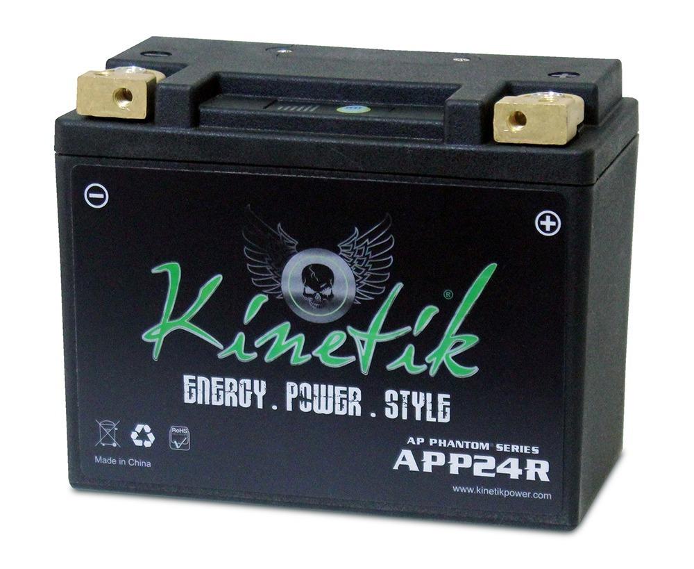 LiFePO4 12V 24-35ah 500,600 CCA PowerSport Battery