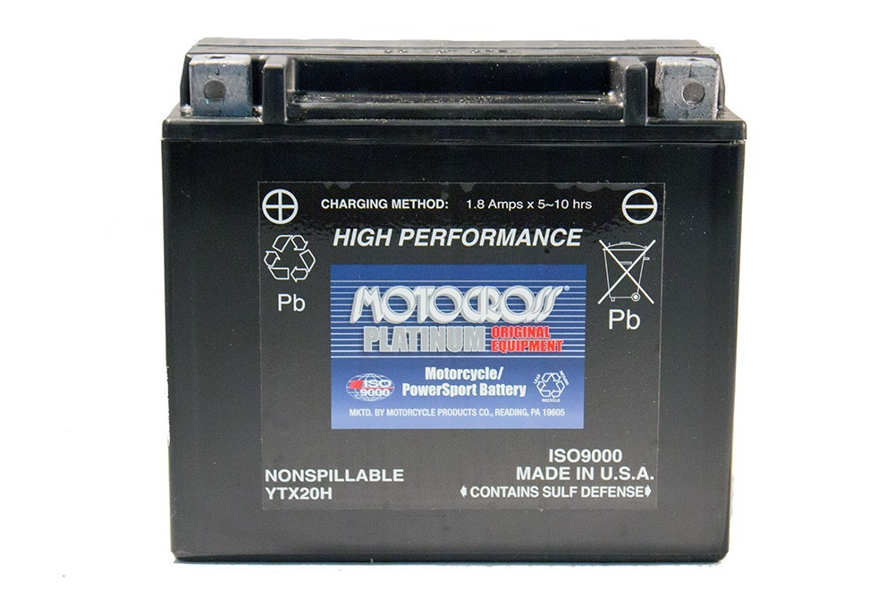YTX20H 12V 18AH 310CCA Power Sport Battery