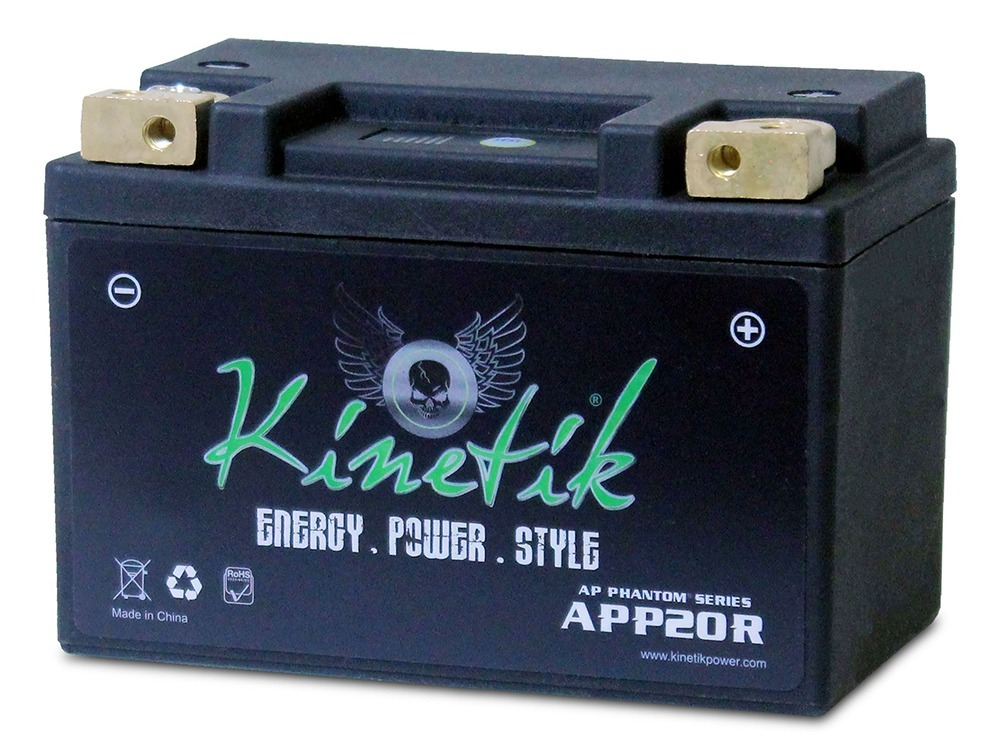 LiFePO4 12V 20-24ah Battery for Ducati 500 GTL, GTV