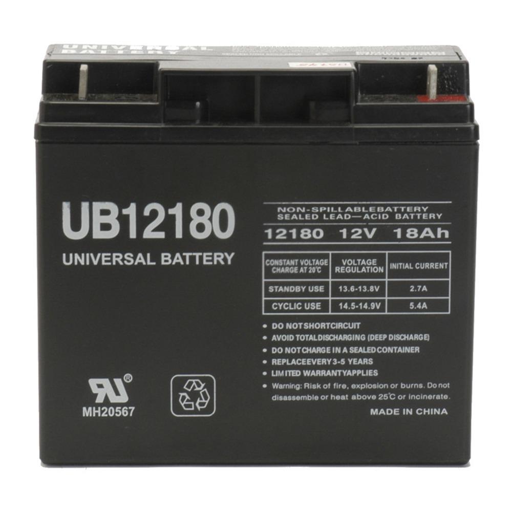 Upg - Sealed Lead Acid Batteries (12V; 18Ah; Ub12180) * Upg - Sealed Lead Acid Batteries (12V; 18Ah; Ub12180) Used In Ups Backup Systems, Spotlights, Flashlights, Exit Lighting  Other Equipment12V 1
