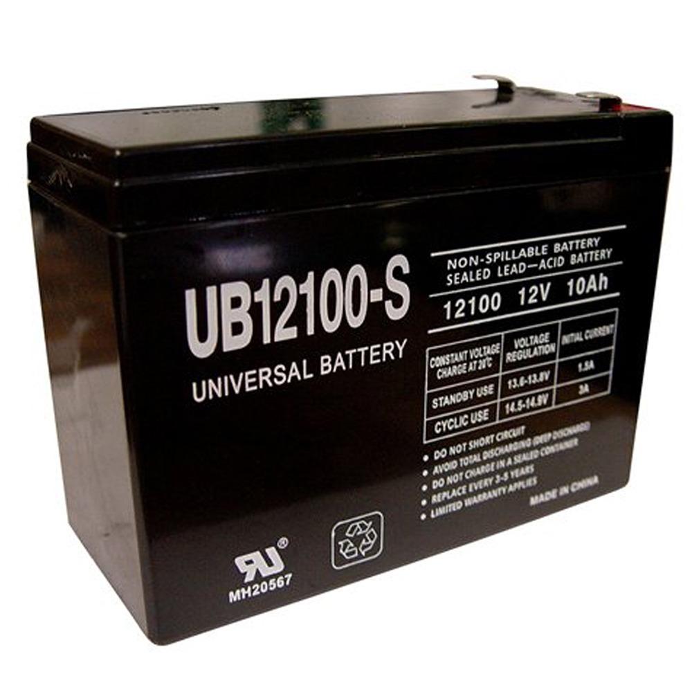 Ereplacements UB12100-S-ER Sealed Lead Acid Battery
