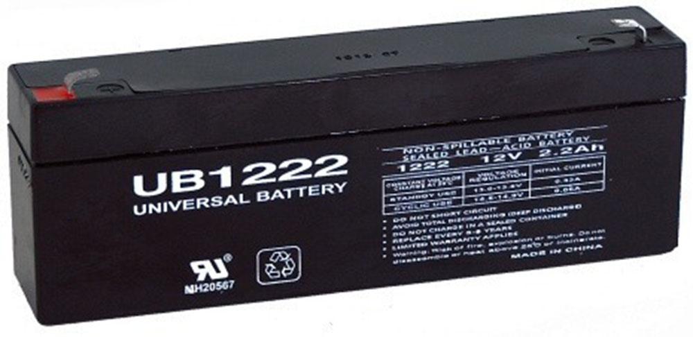 12V 2.2 Sealed Lead Acid Battery Tab=.187