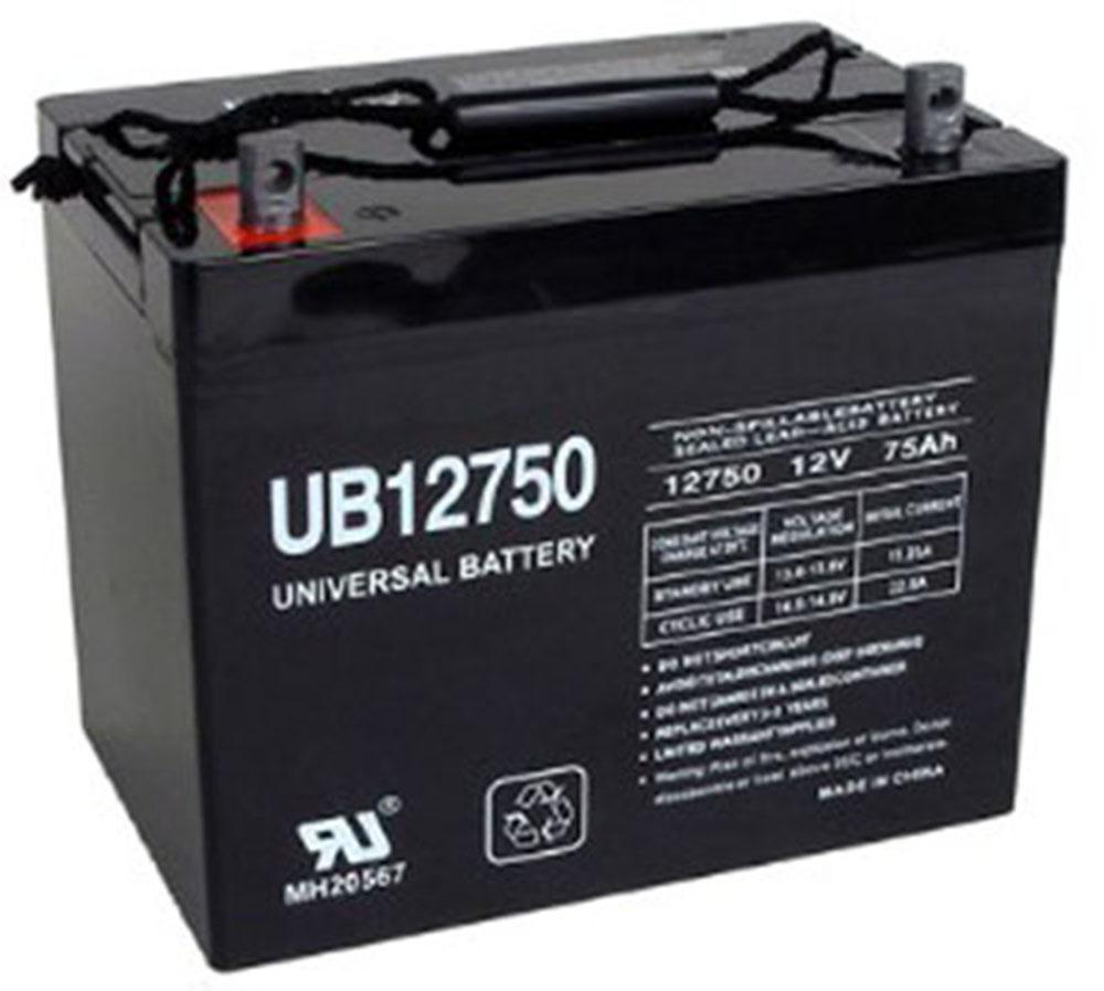 GENERIC UB12750 12V 75Ah AGM SLA Battery Universal UB12750 Group 24