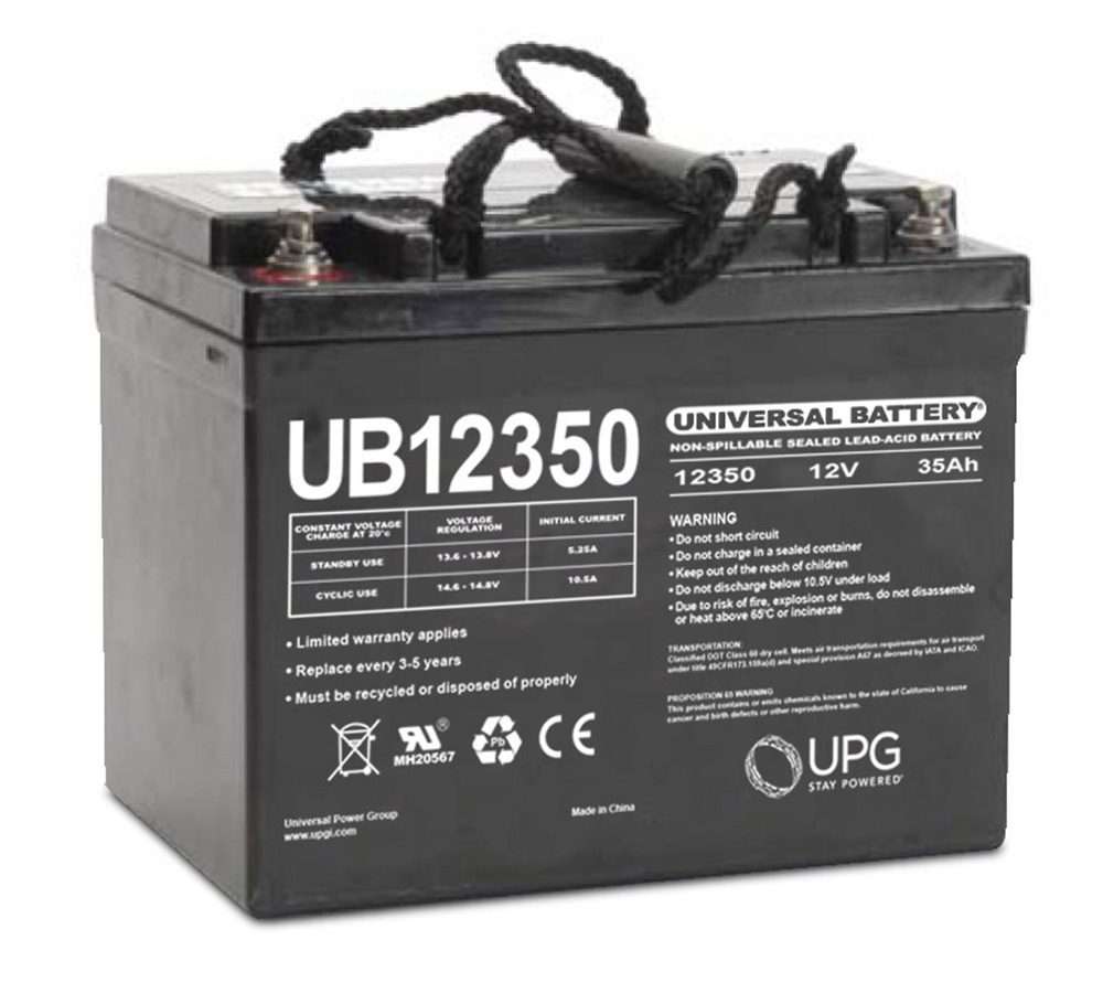 UB12350 12V 35AH SLA Internal Thread Battery for Simplexginnell MODEL 4100