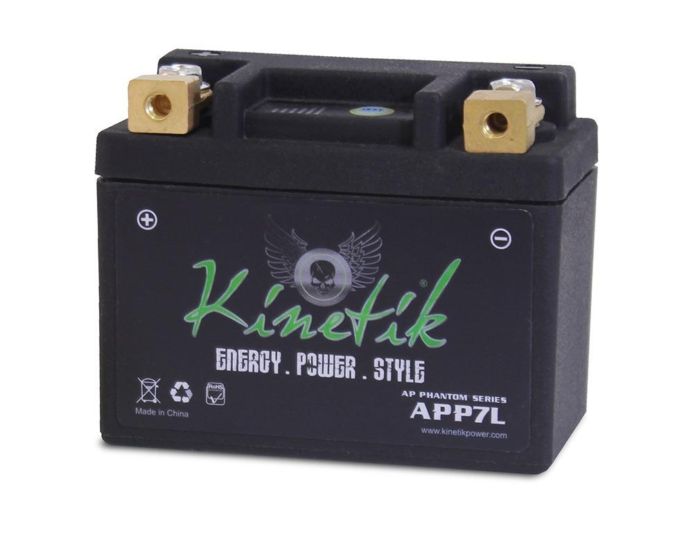 LiFePO4 12V 7-9ah Battery for SYM 50 Fiddlell125 2010-2011