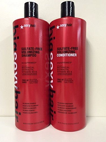 Sexy Hair Big Volume Shampoo and Conditioner Duo Set 33.8oz