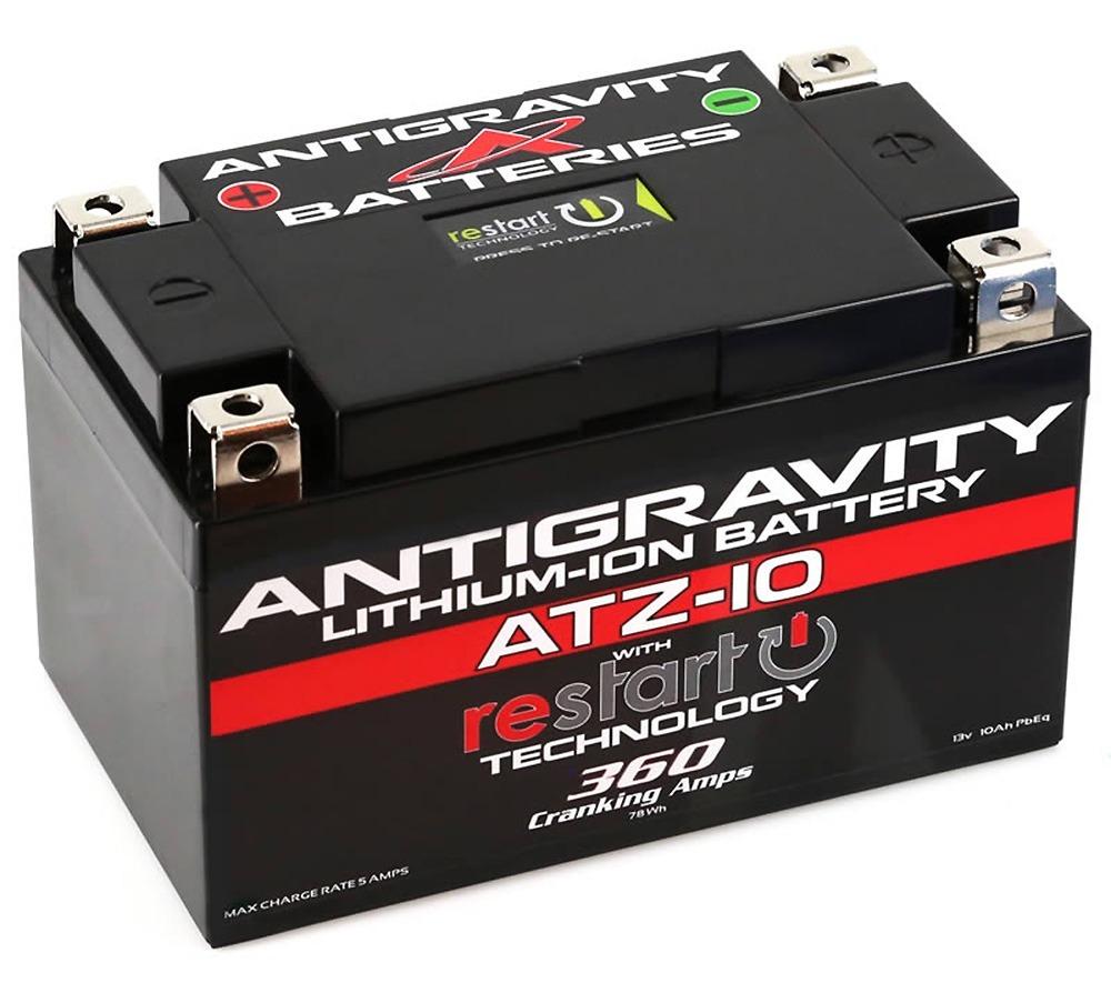 Antigravity Re-Start ATZ10-RS Lithium Battery 12V 360CA with Restart Technology