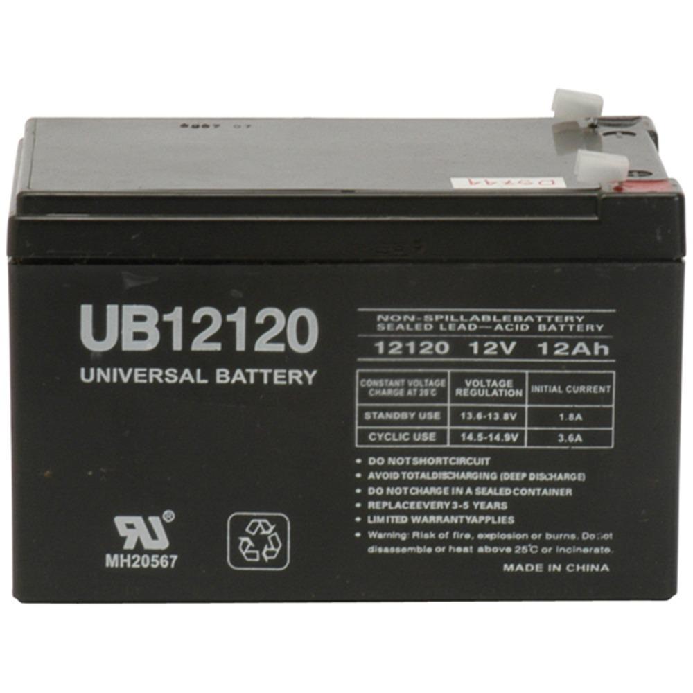 UB12120 12V 12AH Sealed Lead Acid Battery (SLA) .187 TT