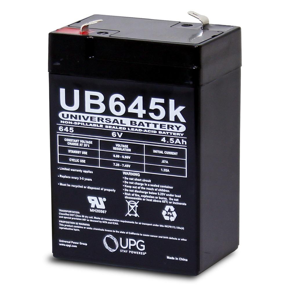 6 Volt 4.5ah SLA Battery