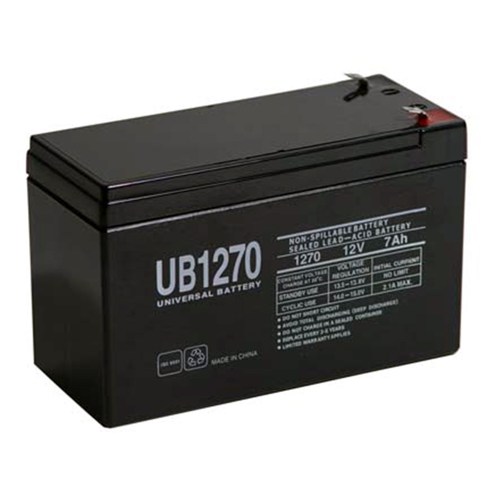 12V 7Ah SLA Alarm Battery Replacement for UltraTech UT-1270