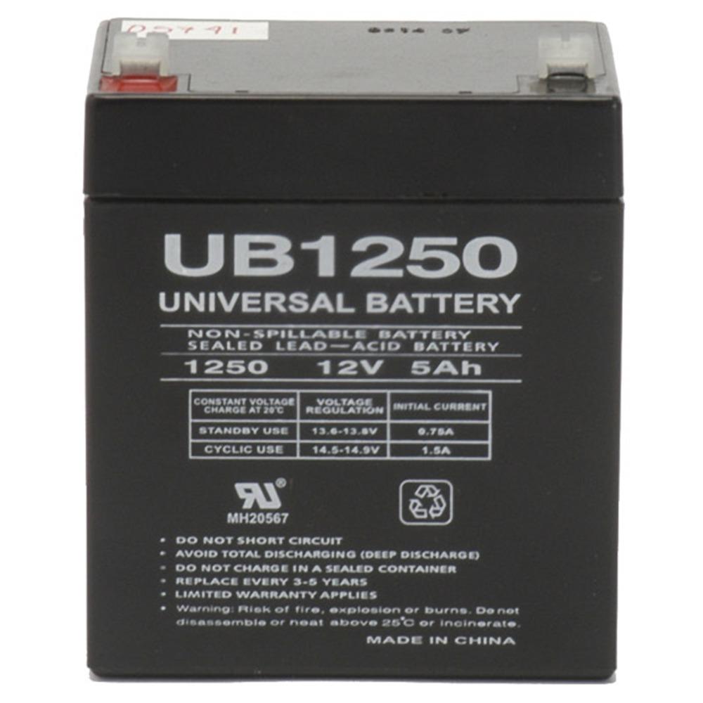ca1240 12v 4ah first 5ah alert adt alarm battery new. Black Bedroom Furniture Sets. Home Design Ideas