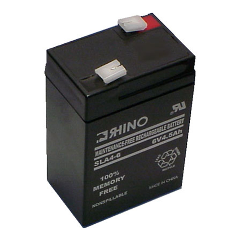New 6v 6 volt Peg Perego Replacement Battery 4.5ah