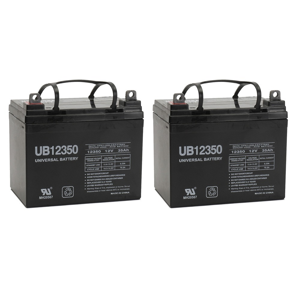 UB12350 12V 35AH SLA BATTERY L1 TERMINAL - 2 Pack