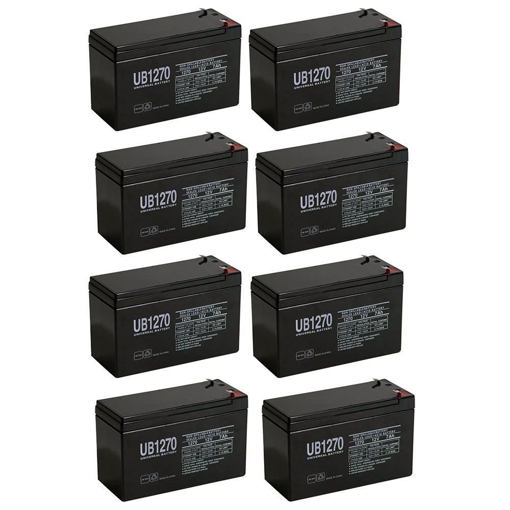 Sunbright 6-FM-7.0 Sealed Lead-acid Battery 12 Volt / 7 Ah - 8 Pack