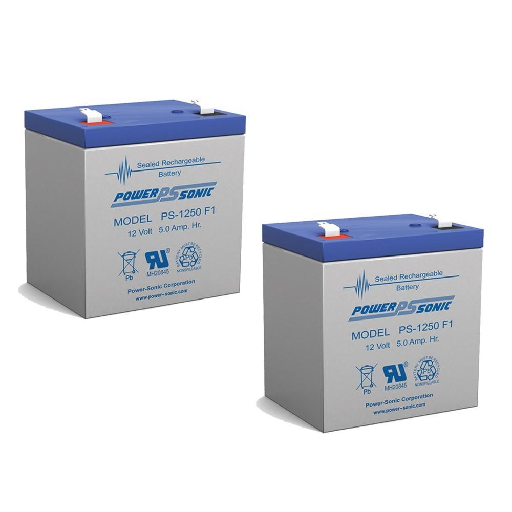 12V 5AH SLA Battery for Razor e100 /e125 /e150 - Not compatible with Power Core E100 - 2 Pack
