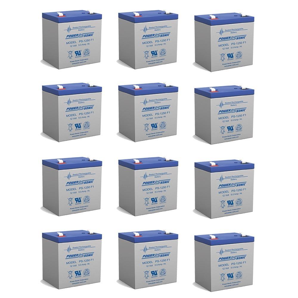 12V 5AH SLA Battery for Razor e100 /e125 /e150 - Not compatible with Power Core E100 - 12 Pack
