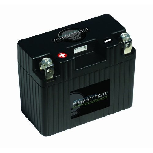 PHANTOM BATTERY (LiFePO4) 12V 14AH  210 CCA MOTORCYCLE BATTERY