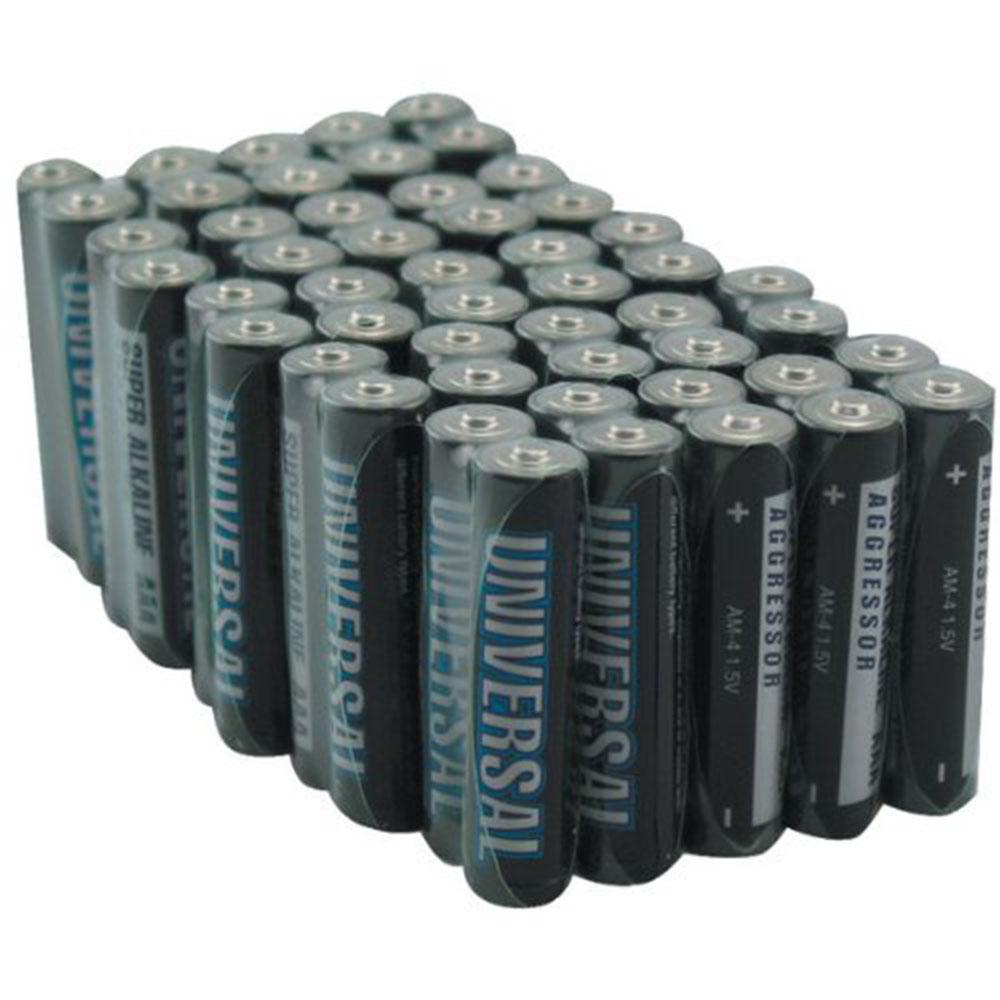Universal D5313/D5913 AAA 50Pack Universal Alkaline Batteries