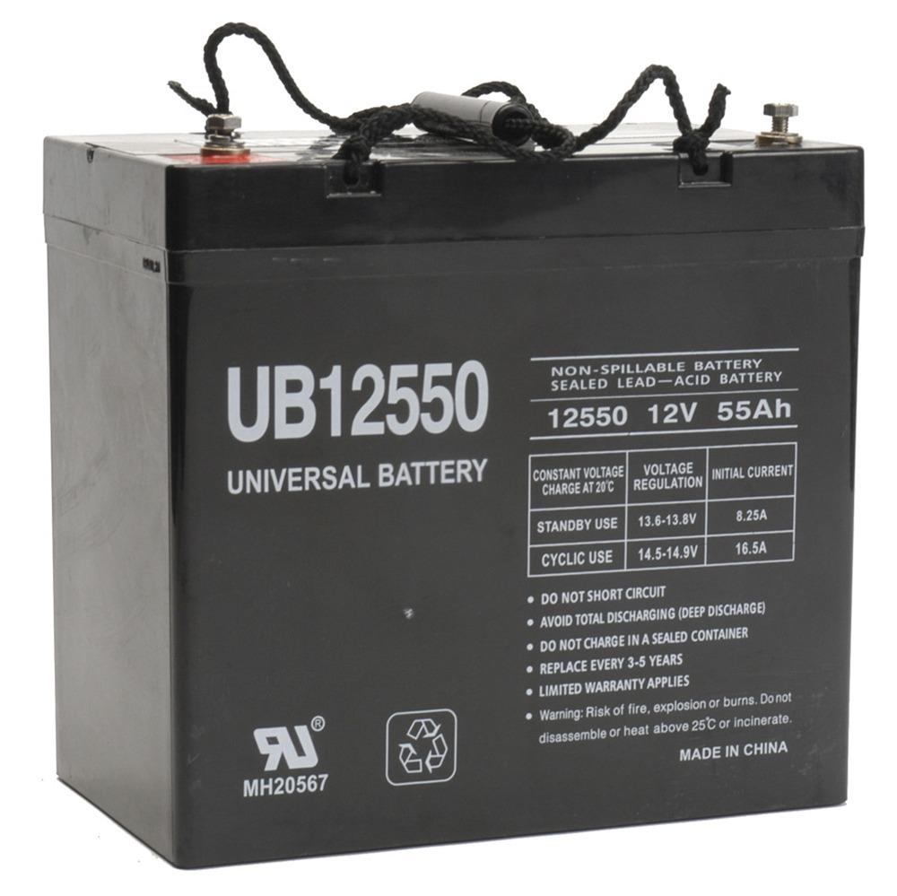 12V 55Ah Sealed Lead Acid Battery Universal UB12550 Group 22NF
