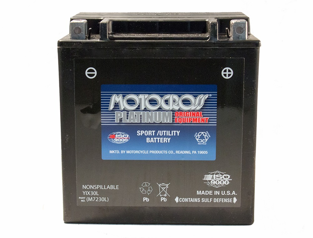 YIX30L 12V 30AH 385CCA Power Sport Battery