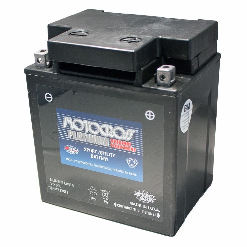 YIX30L-PW 12V 30AH 400CCA Power Sport Battery