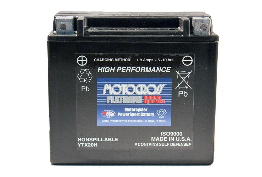 YTX20H 12V 18AH 310CCA Power Sport Battery
