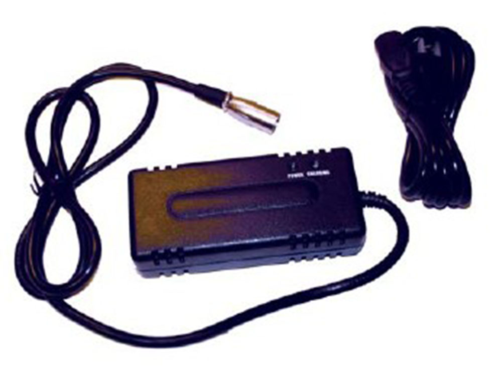 24 Volt 2 Amp three stage wheelchair battery charger