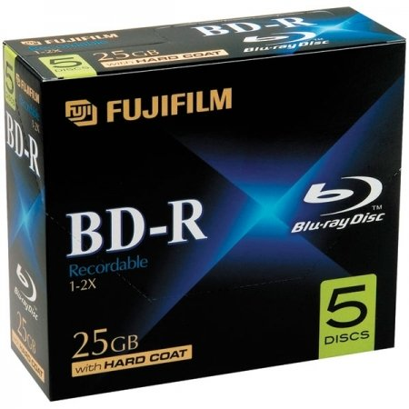 Fujifilm / BD-R Media Recordable 25GB 5 Pack / 25303605