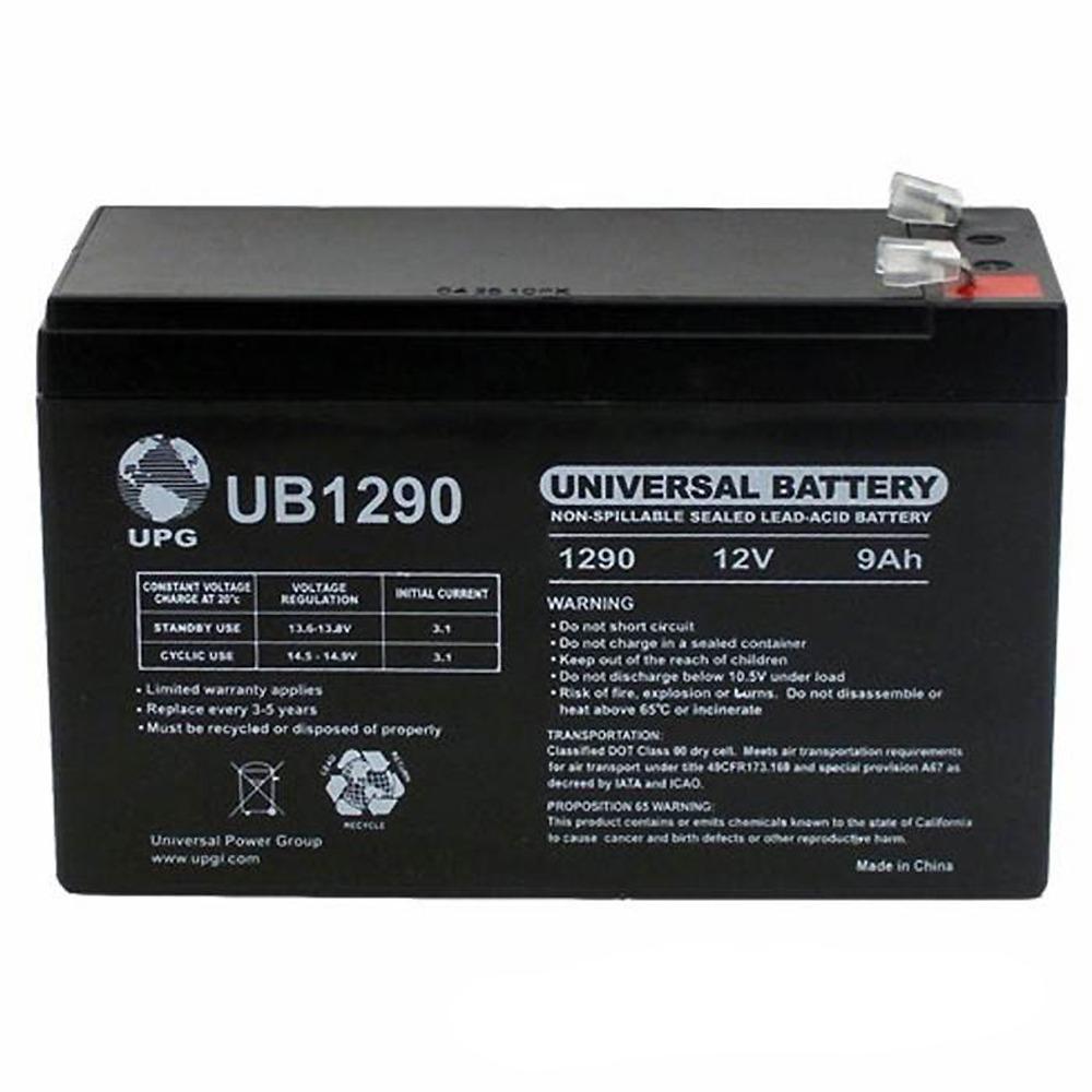 UPG 12V 9AH Replaces Battery for Vexilar UP2012D FL-20 Pack 12V 1Amp Charger