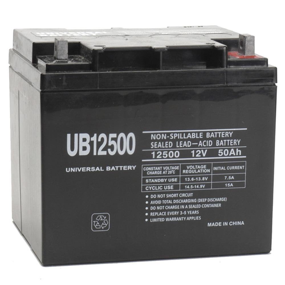 upg 12v 50ah wheelchair battery replaces pihsiang 109101 89203 50p ebay. Black Bedroom Furniture Sets. Home Design Ideas