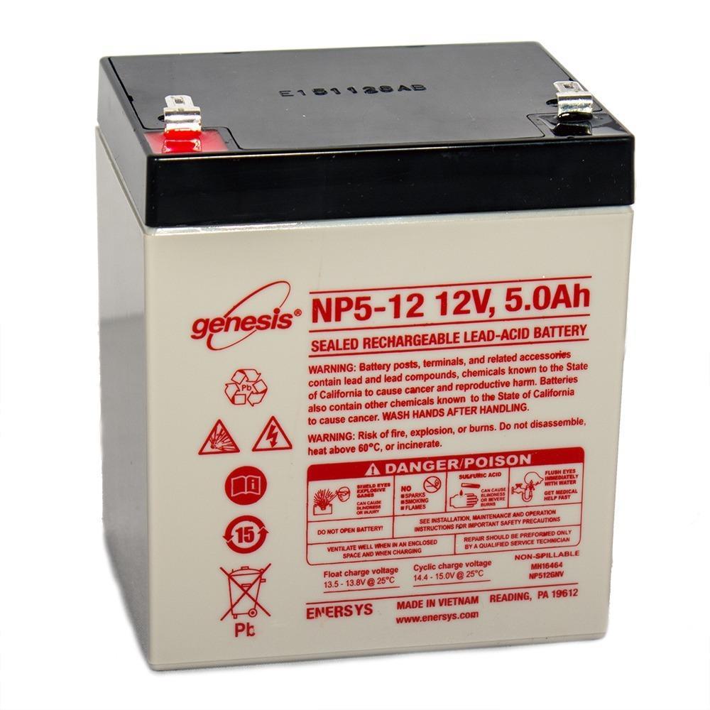 Enersys 12v 5ah liftmaster chamberlain 485lm garage door for 12 volt battery garage door opener