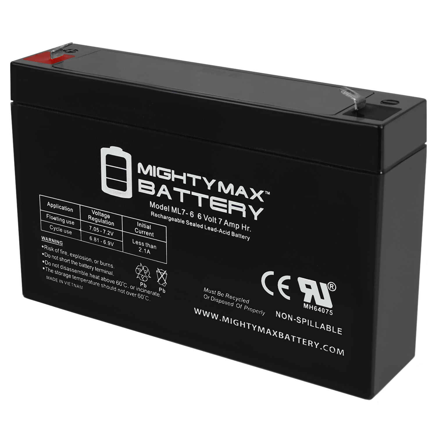 TechnaCell EP66026 Compatible Replacement Battery