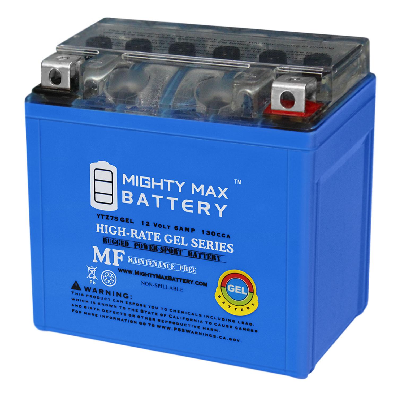 mighty max 12v 6ah gel battery for honda 150 pcx150 2013. Black Bedroom Furniture Sets. Home Design Ideas