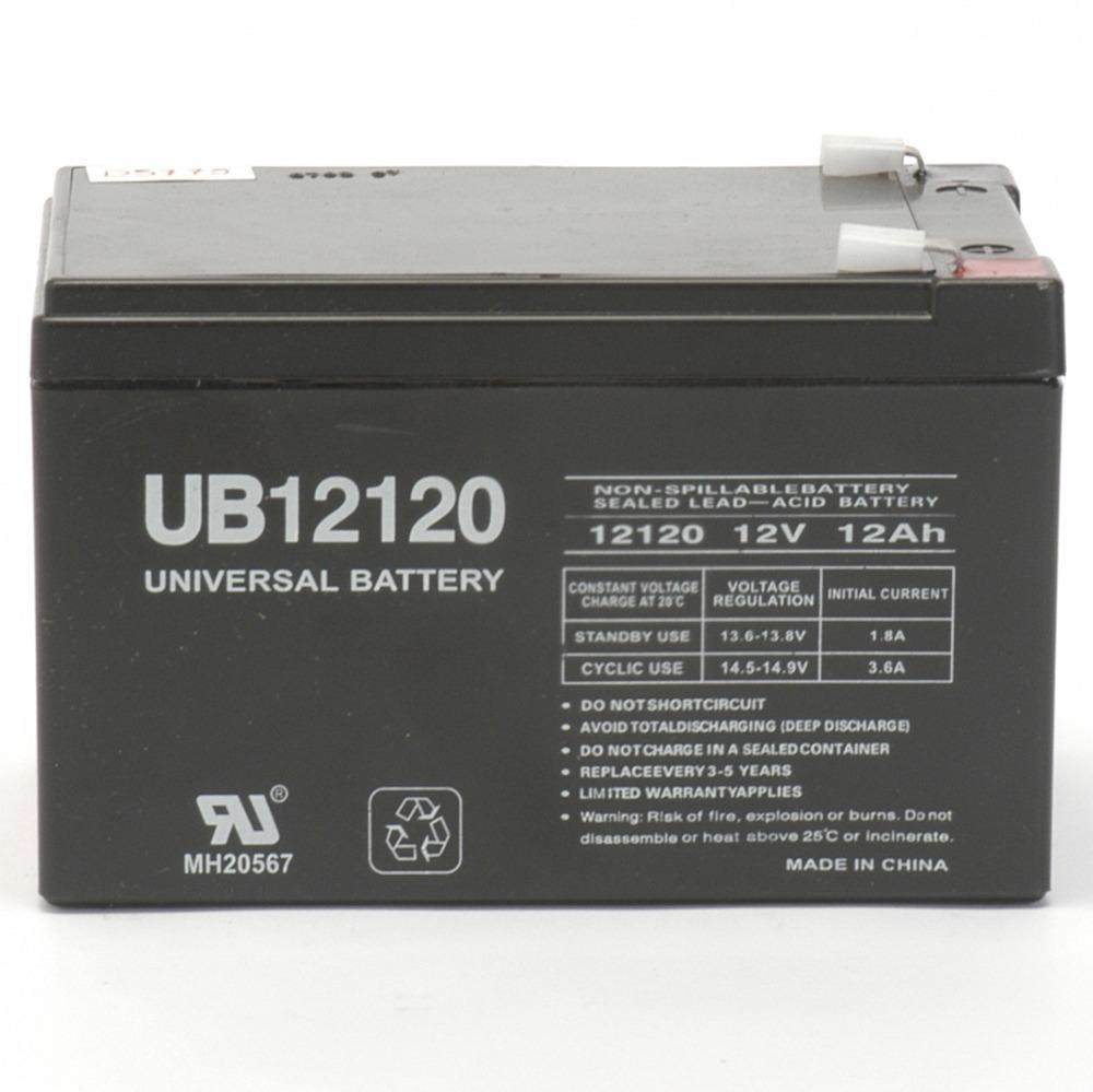UPG 12V 12Ah F2 Sealed Lead Acid Battery for Belkin BERBC55 F6C100 UPS at Sears.com
