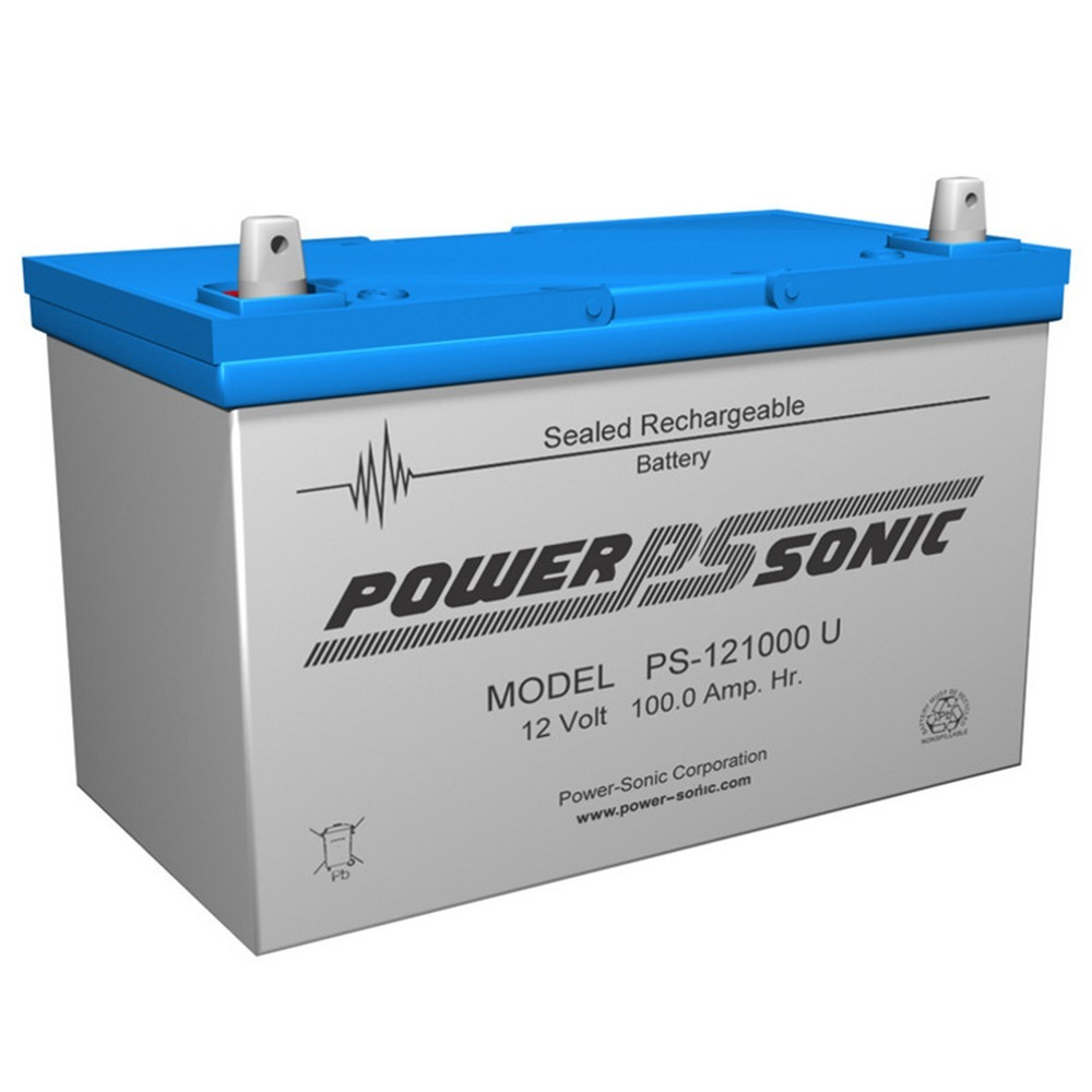 POWER-SONIC Group 27 12V 100Ah Sealed Lead Acid Rechargeable Deep Cycle Battery at Sears.com