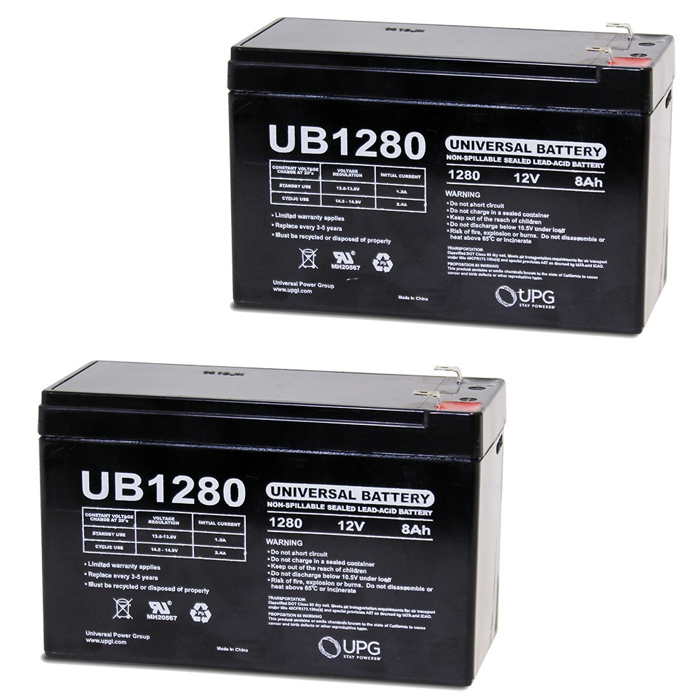 UPG 12V 8Ah Black & Decker CST1000 Type 4 String Trimmer Battery : Replacement - 2 Pack at Sears.com
