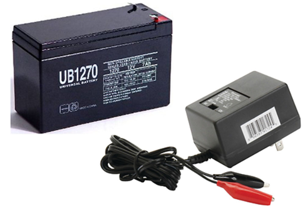 UPG 12V 7Ah Battery Replacement for Verizon Fios Systems  WITH CHARGER at Sears.com